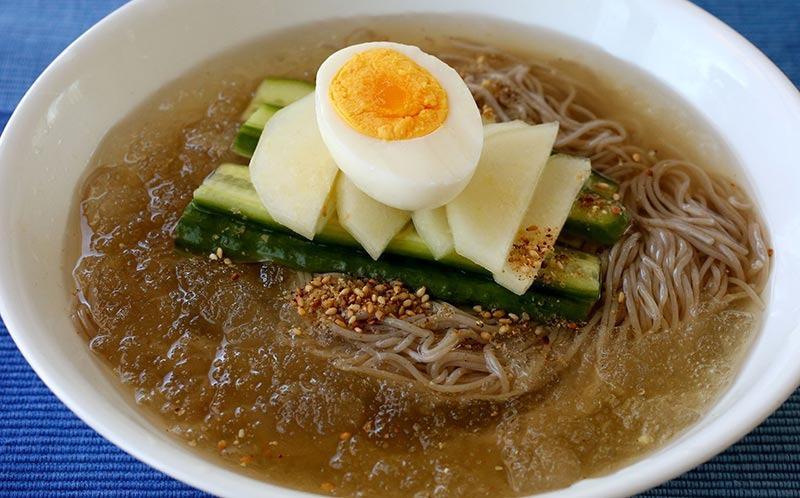 Mul-Naengmyeon-Soupe de Nouille Glacée