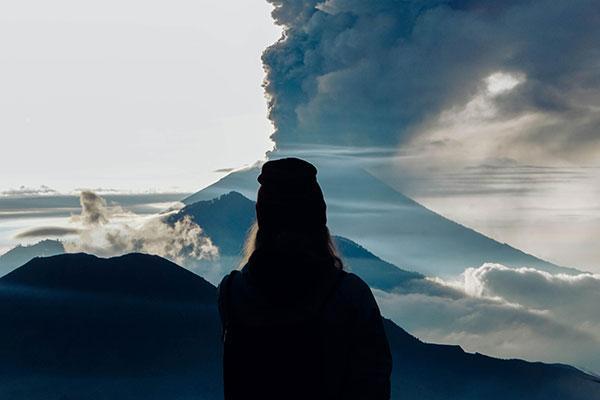 La menace du volcan Agung à Bali n'est pas terminée
