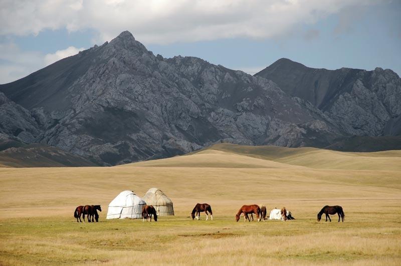 Le Kirghizistan en un clin d'oeil