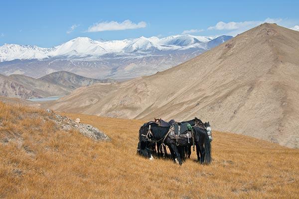 La géographie du Kirghizistan