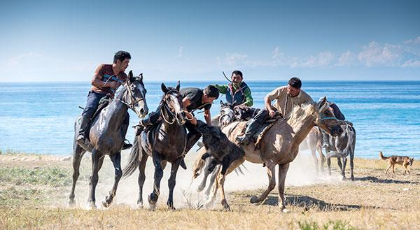Culture nomade Kirghizistan