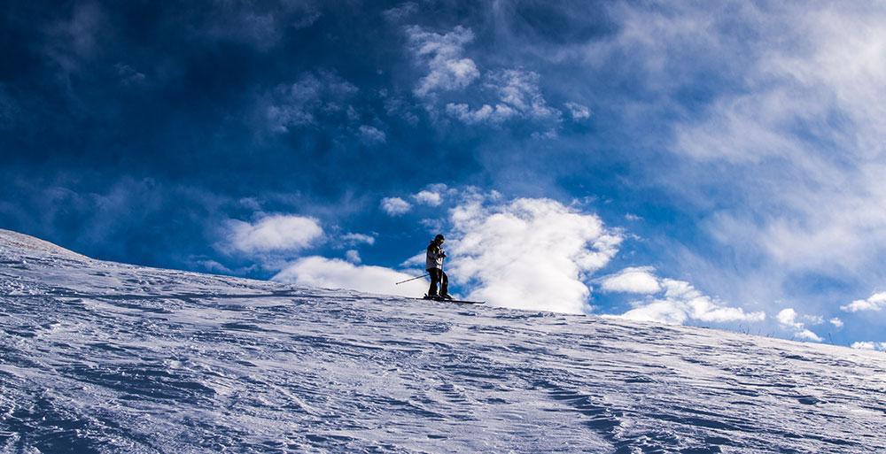 Skier au Kirghizistan