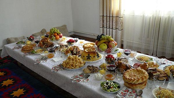 repas mariage kirghize