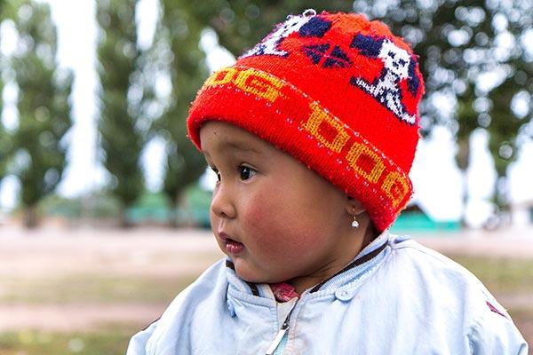 Bébé kyrgyze