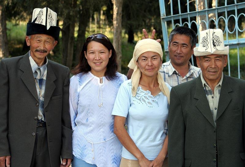 Au Kirghizistan