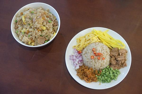 Recette cambodgienne du riz Kapi