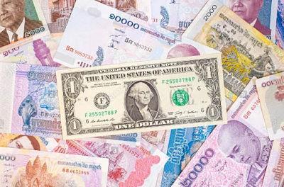 Le dollar est arrivé au Cambodge en 1992 sous l'impulsion indirecte de l'ONU. Il est accepté partout dans le pays.