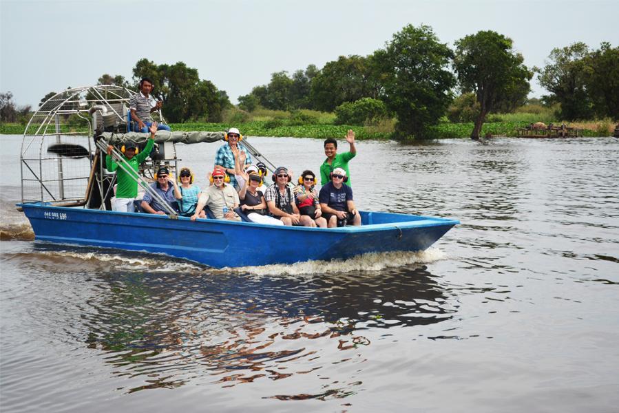 L'éco-tourisme propulsé sur les rives du Tonle Sap