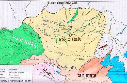 L'empire turk