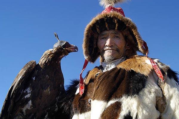 Le festival des Aigles dans l'Altaï mongol