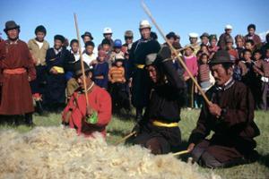 les nomades battent la leine