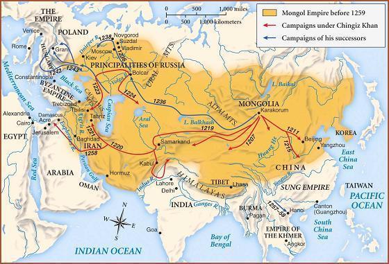 L'empire Mongol