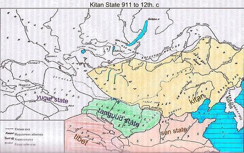 La période des Uighurs et des Kitans