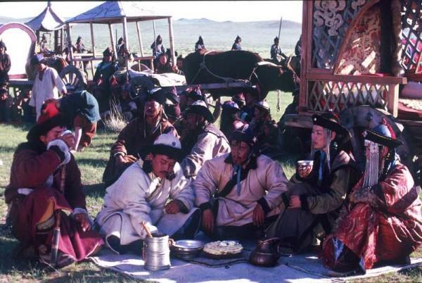 Les khans de Mongolie