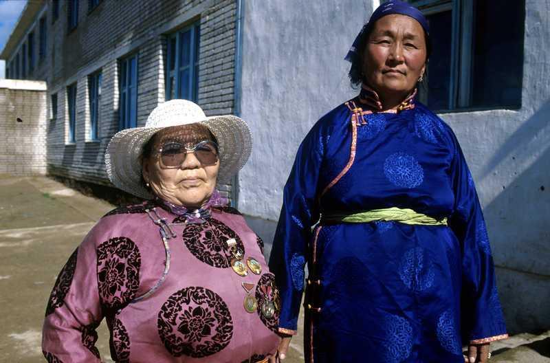 La position des femmes dans la société mongole