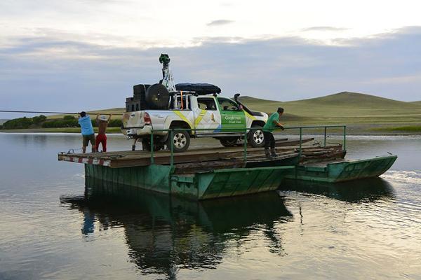 Google Street View s'invite en Mongolie