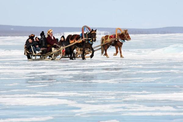 Le festival de glace débute en Mongolie