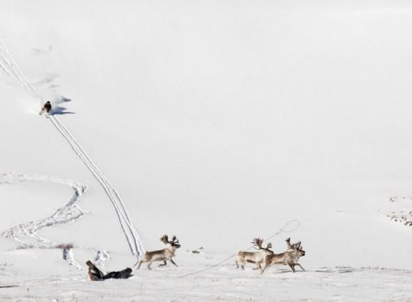 The tradition of skiing in the Mongolian culture