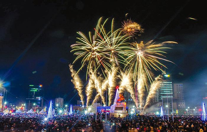 Celebrating the New Year in Mongolia