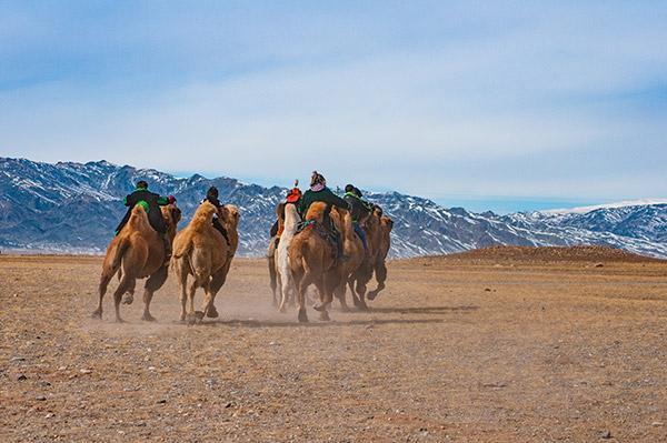 Winterfeste in der Mongolei