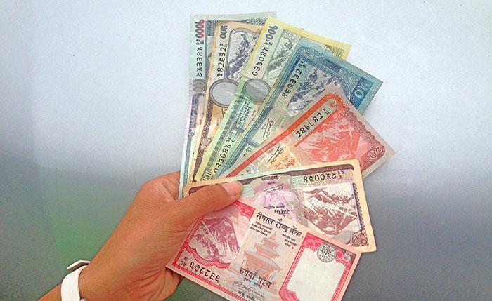 L'argent au Népal