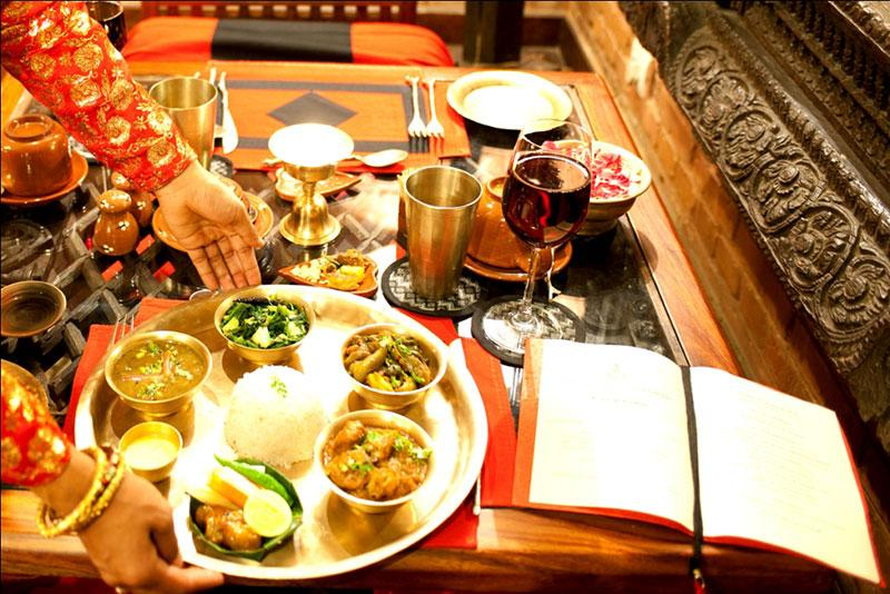 La nourriture au Népal