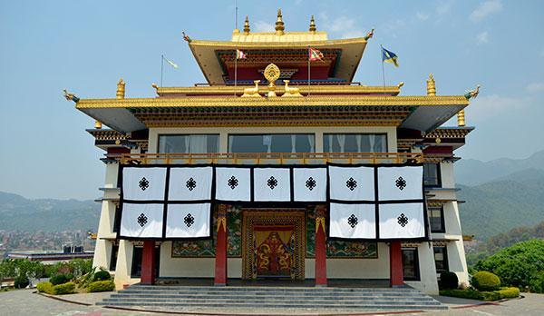 Les monastères de la vallée de Katmandou